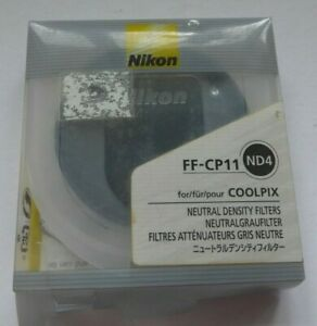 Nikon FF-CP11 ND4 for Coolpix 8800 Cameras - Neutral Density 2-stops