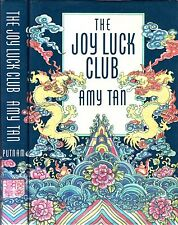 The Joy Luck Club by Amy Tan Hardcover First Printing Signed Twice