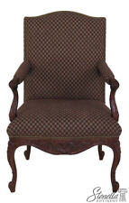 45934EC: SHERRILL French Louis XV Style Upholstered Arm Chair