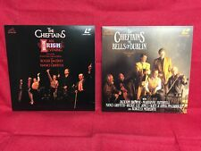 The Chieftains Laserdisc LOT of 2 The Bells of Dublin & An Irish Evening LIVE LD