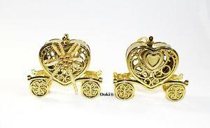 12 Gold Cinderella Princess Party Favor Wedding Bridal Shower Keepsake Fillable