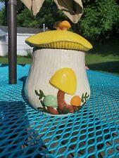 Vintage arnels Mushroom Cookie Jar