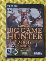 Cabela's Big Game Hunter 2006 Trophy Season PC CD-ROM