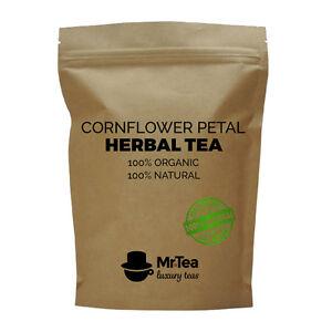 Cornflower Petals - Luxury Loose-Leaf Caffeine-Free Herbal Tea - 20g - 50g