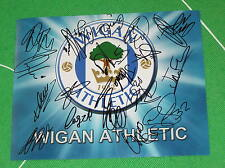 Wigan Athletic FC Photograph Signed x 20 2015/16 1st Team Squad