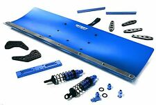 Integy Snow Plow Blade Kit Traxxas X-Maxx 1/5 Scale RC 4x4 Monster Truck Blue