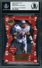 Brian Urlacher Autographed 2000 Press Pass Rookie Card Bears Beckett 11144798