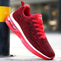 Men's Air Cushion Running Shoes Sports Casual Athletic Sneakers Outdoor Walking