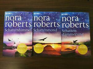 Nora Roberts - Schatten Trilogie Schattenmond Schattendämmerung Schattenhimmel