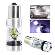 2x 100w 1156 Ba15s 382 P21w CREE XBD LED White Stop Reverse Light Canbus* Bulb