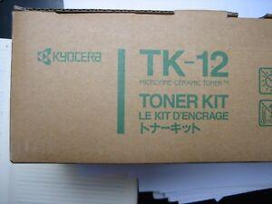 Kyocera Toner TK-12 FS-1550 1600 +  3400  3600 6500 TK12 original genuine