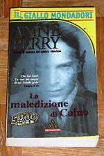"""Anne Perry """"LA MALEDIZIONE DI CAINO"""" Il Giallo Mondadori"""