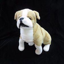 """English Bulldog Melissa & Doug Plush 19"""" Giant Stuffed Toy Animal Age 3 & Up"""