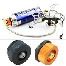 Camping Stove Butane Gas Adapter Convert Fuel Canister for Long Gas Tank UK