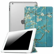 For iPad 2 / 3 / 4th Gen Tablet Case Cover Stand with Translucent Frosted Back