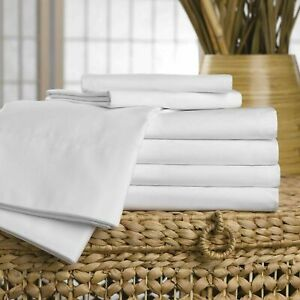 Hospital - Care Homes 100% Cotton Flat Bed sheets Nursing Homes Bed Sheets