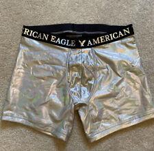 American Eagle Illuminescent Boxer Breifs Size Large Multicolor Mens