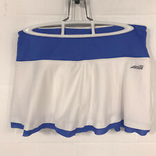 Women Avia Tennis Skirt Skort S Small White W/ Compression Shorts Free Shipping