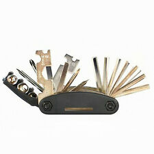 Bike Bicycle Multi-Tool Set Socket Hex Allen Key Screw Driver Repair Kit 15 in 1