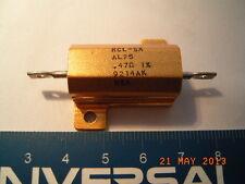 Power Resistor, Hochlastwiderstand, 0.47R, 1%, 25W
