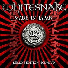 WHITESNAKE MADE IN JAPAN DOPPIO CD+DVD NUOVO SIGILLATO !!