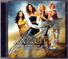 Sex and the City 2 The score Aaron Zigman CD Sarah Jessica PARKER BANDE ORIGINALE NEUF