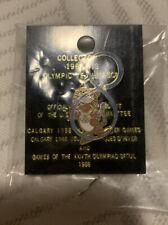 "1988 Seoul Summer Olympic Mascot Pin ""Hidori"" - Gymnastics (Ribbon)"