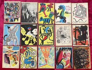 BIBLIOTEQUE DE COBRA PREMIERE SERIE: LES ARTISTES LIBRES - 1950 COPENHAGUE