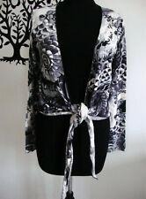 Gilet coton   MC PLANET   Taille 36 et   40   noir  et blanc