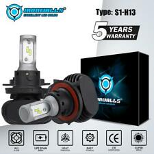 IRONWALLS H13 9008 2100W 315000LM CSP LED Headlight Bulbs Kits 6000K White HID