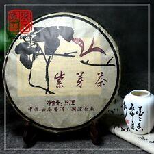 10 years old Wild Shen Purple Puer Tea, Chinese Yunan Raw Pu erh Tea The Jingmai