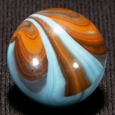 "EPIC/RARE CAC STRIPED OPAQUE Vintage Marble, .67"", MINT, hawkeyespick"