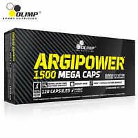 ARGIPOWER 30-150 Caps. L-Arginine Nitric Oxide Muscle Pump & Grow Bodybuilding
