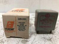 NOS Vintage TRW Low Pass Transformer Filter LMI-200 Sound Load 10k Ohms TUBE AMP