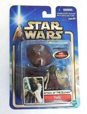 Hasbro Star Wars Attack of the Clones Yoda Jedi Master NEW !!
