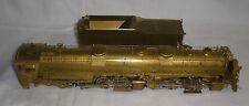 D & R.G.W Class L-105 4-6-6-4 Locomotive w/tender HO Scale Brass NOS PSC #15352