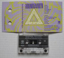 SOUNDGARDEN Badmotorfinger 1991 A&M US Advance PROMO Cassette Tape CHRIS CORNELL