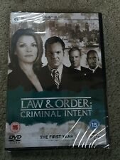 Law And Order - Criminal Intent - Series 1 - Complete (DVD, 6-Disc Set) Sealed