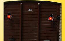Viessmann 5069 plastico ferroviario Coppia di Lanterne finali per Carro merci