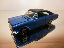 DINKY TOYS 179 OPEL COMMODORE - BLUE METALLIC 1:43 - GOOD CONDITION