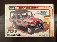 JEEP CJ-7 RENEGADE,REVELL 1:25,NUOVO E SIGILLATO,1980 MADE IN USA
