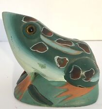 Small Hand Carved Stone Frog, People's Republic of China