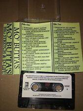 Big Stretch & D-Life MO BUTTAS CLASSIC 90s NYC Hip Hop Rap Cassette Mixtape Tape