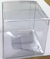 New 25 Clear Plastic Cube Boxes, 3 Inches Cubed For Balls, Gifts & Collectibles