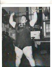 Weightlifting Photo Strongman Paul Anderson Bodybuilding Muscle B&W #5
