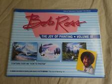 Experience The Joy of Painting with BOB ROSS Volume 9 (IX) Instruction Book