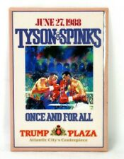 Tyson - Spinks Fight June 27, 1988 Trump Plaza Atlantic City Pin Button Pinback