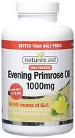 Natures Aid Evening Primrose Oil 1000mg - 180 Capsules