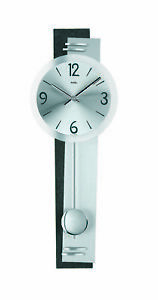Modern wall clock with quartz movement from AMS AM W7255 NEW