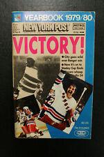 1979/80 New York Rangers Yearbook John Davidson Cover Esposito Media Guide